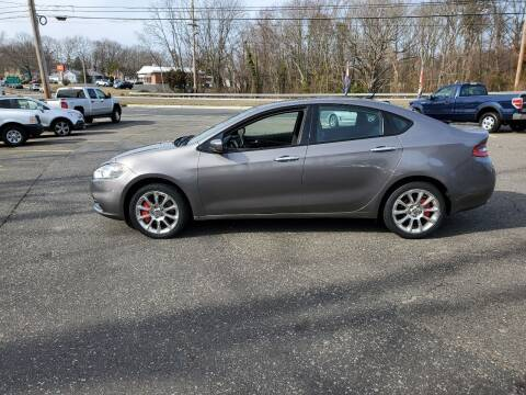 2013 Dodge Dart for sale at CANDOR INC in Toms River NJ