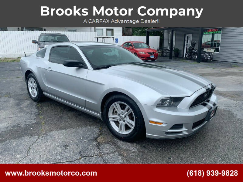 2014 Ford Mustang for sale at Brooks Motor Company in Columbia IL