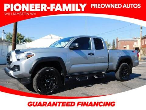2021 Toyota Tacoma for sale at Pioneer Family preowned autos in Williamstown WV