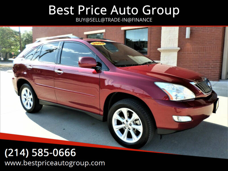 2009 Lexus RX 350 for sale at Best Price Auto Group in Mckinney TX