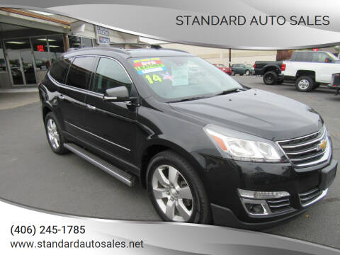 2014 Chevrolet Traverse for sale at Standard Auto Sales in Billings MT