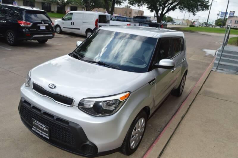 2015 Kia Soul for sale at E-Auto Groups in Dallas TX