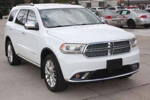 2014 Dodge Durango for sale at Sandusky Auto Sales in Sandusky MI