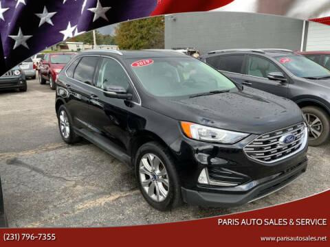 2019 Ford Edge for sale at Paris Auto Sales & Service in Big Rapids MI