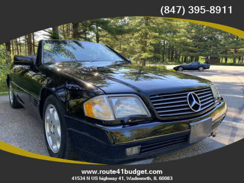 1995 Mercedes-Benz SL-Class for sale at Route 41 Budget Auto in Wadsworth IL