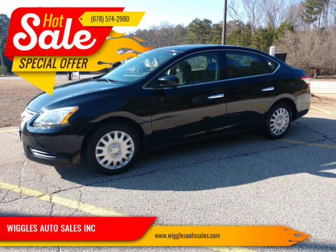 2014 Nissan Sentra for sale at WIGGLES AUTO SALES INC in Mableton GA