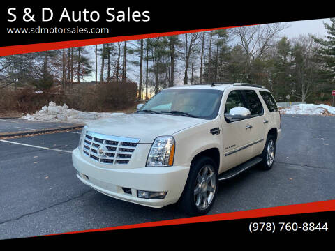 2007 Cadillac Escalade for sale at S & D Auto Sales in Maynard MA