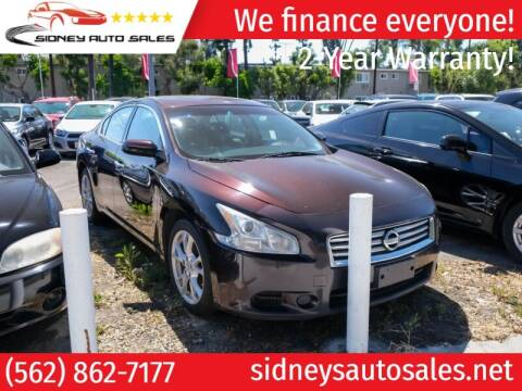 2014 Nissan Maxima for sale at Sidney Auto Sales in Downey CA