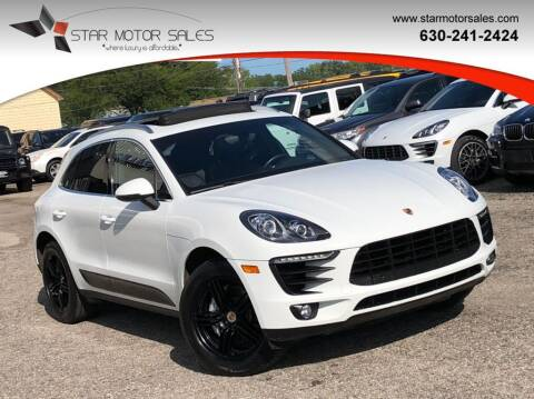 2015 Porsche Macan for sale at Star Motor Sales in Downers Grove IL