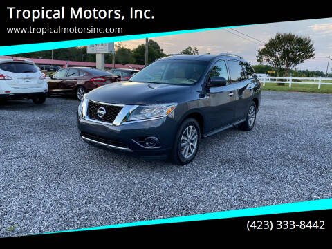 2014 Nissan Pathfinder for sale at Tropical Motors, Inc. in Riceville TN