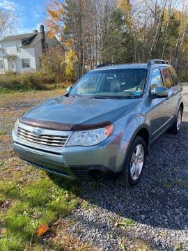 2010 Subaru Forester for sale at ROUTE 11 MOTOR SPORTS in Central Square NY