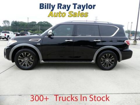 2017 Nissan Armada for sale at Billy Ray Taylor Auto Sales in Cullman AL