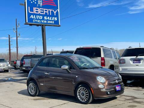 2012 FIAT 500 for sale at Liberty Auto Sales in Merrill IA