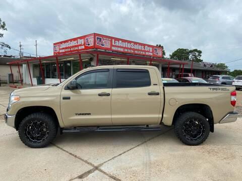 2017 Toyota Tundra for sale at LA Auto Sales in Monroe LA