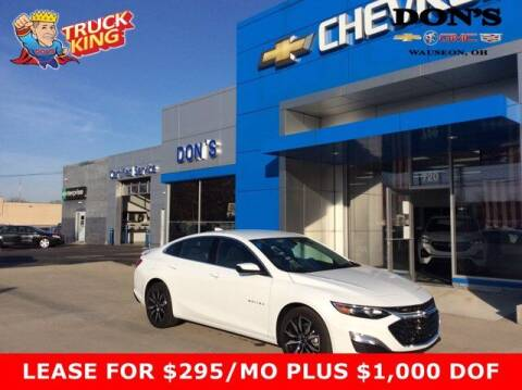 2021 Chevrolet Malibu for sale at DON'S CHEVY, BUICK-GMC & CADILLAC in Wauseon OH