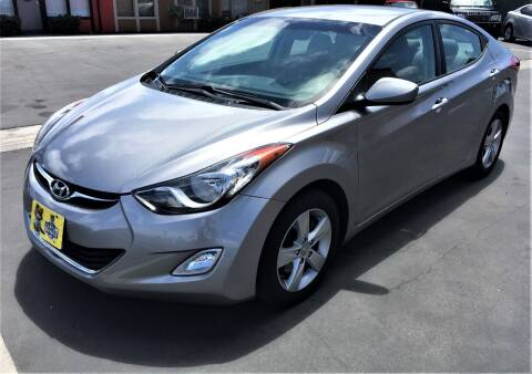 2012 Hyundai Elantra for sale at CARSTER in Huntington Beach CA