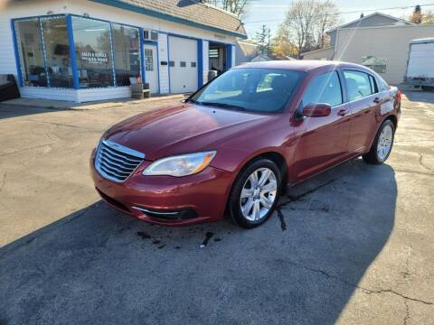 2012 Chrysler 200 for sale at MOE MOTORS LLC in South Milwaukee WI