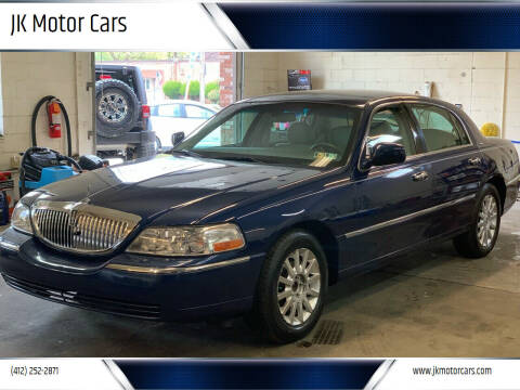 2007 Lincoln Town Car for sale at JK Motor Cars in Pittsburgh PA