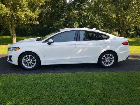 2019 Ford Fusion for sale at M & M Auto Sales in Hillsboro OH
