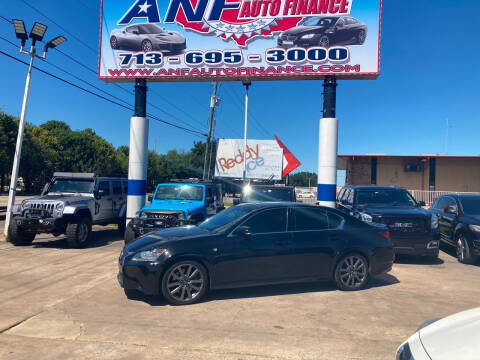 2014 Lexus GS 350 for sale at ANF AUTO FINANCE in Houston TX