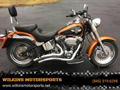 2015 Harley-Davidson Fat Boy for sale at WILKINS MOTORSPORTS in Brewster NY
