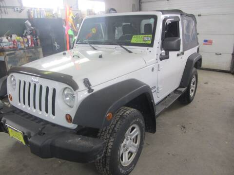 2013 Jeep Wrangler for sale at Jons Route 114 Auto Sales in New Boston NH