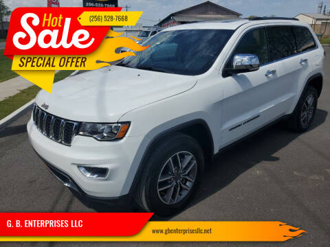 2020 Jeep Grand Cherokee for sale at G. B. ENTERPRISES LLC in Crossville AL