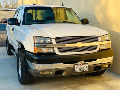 2004 Chevrolet Silverado 2500HD for sale at Auto Zoom 916 in Rancho Cordova CA