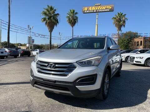 2014 Hyundai Santa Fe Sport for sale at A MOTORS SALES AND FINANCE - 10110 West Loop 1604 N in San Antonio TX
