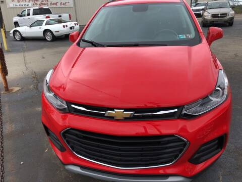 2017 Chevrolet Trax for sale at Berwyn S Detweiler Sales & Service in Uniontown PA