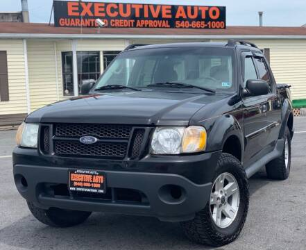 2005 Ford Explorer Sport Trac for sale at Executive Auto in Winchester VA