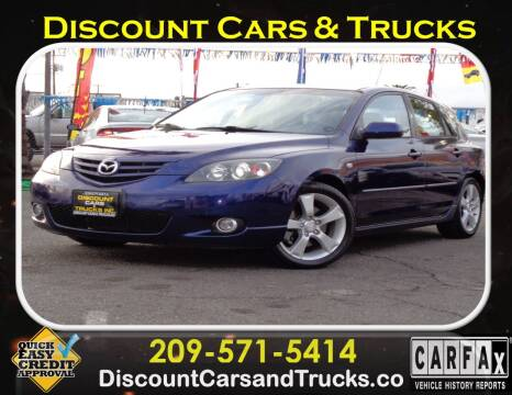 2004 Mazda MAZDA3 for sale at Discount Cars & Trucks in Modesto CA