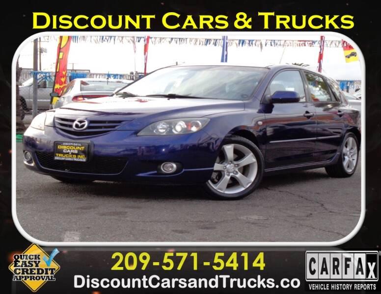 2004 Mazda MAZDA3 for sale at Discount Cars & Trucks in Modesto CA