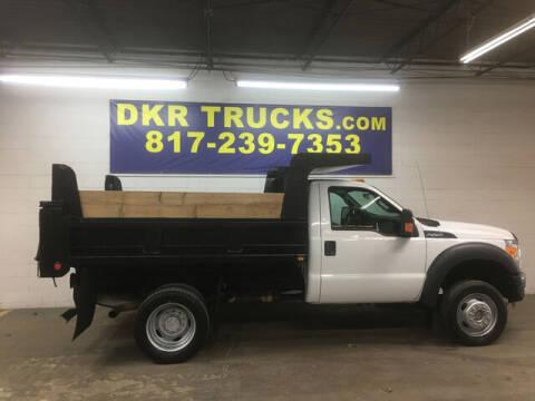 2014 Ford F-550 Super Duty for sale at DKR Trucks in Arlington TX