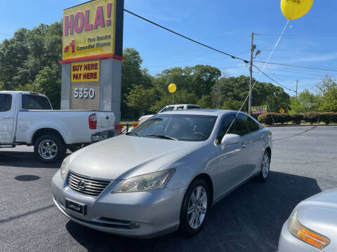 2008 Lexus ES 350 for sale at No Full Coverage Auto Sales in Austell GA