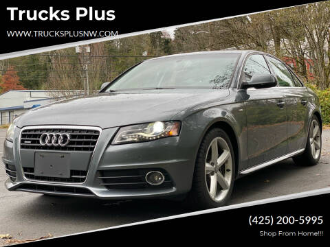 2012 Audi A4 for sale at Trucks Plus in Seattle WA