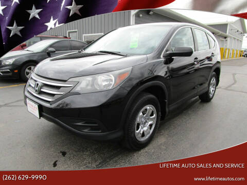 2014 Honda CR-V for sale at Lifetime Auto Sales and Service in West Bend WI