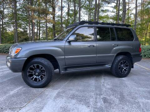 2000 Lexus LX 470 for sale at Selective Imports in Woodstock GA