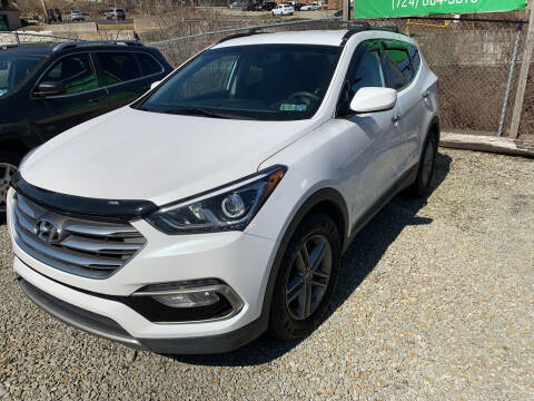 2017 Hyundai Santa Fe Sport for sale at STIRLING MOTORS, LLC in Irwin PA