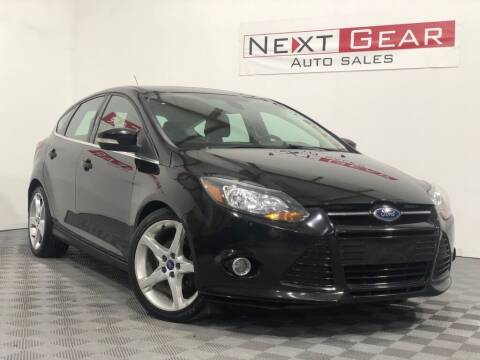 2012 Ford Focus for sale at Next Gear Auto Sales in Westfield IN