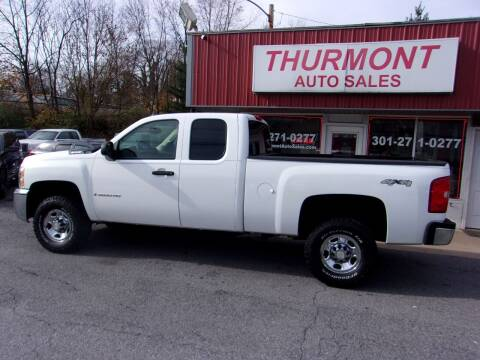 2007 Chevrolet Silverado 2500HD for sale at THURMONT AUTO SALES in Thurmont MD