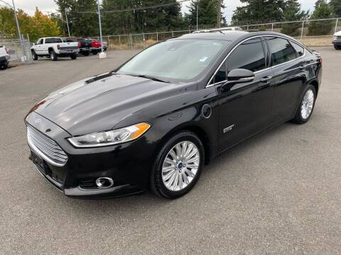 2014 Ford Fusion Energi for sale at Vista Auto Sales in Lakewood WA