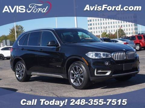 2018 BMW X5 for sale at Work With Me Dave in Southfield MI