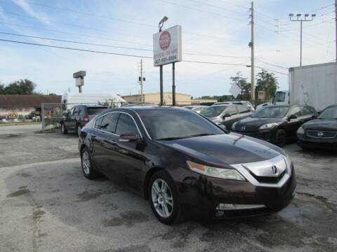 2011 Acura TL for sale at Motor Point Auto Sales in Orlando FL