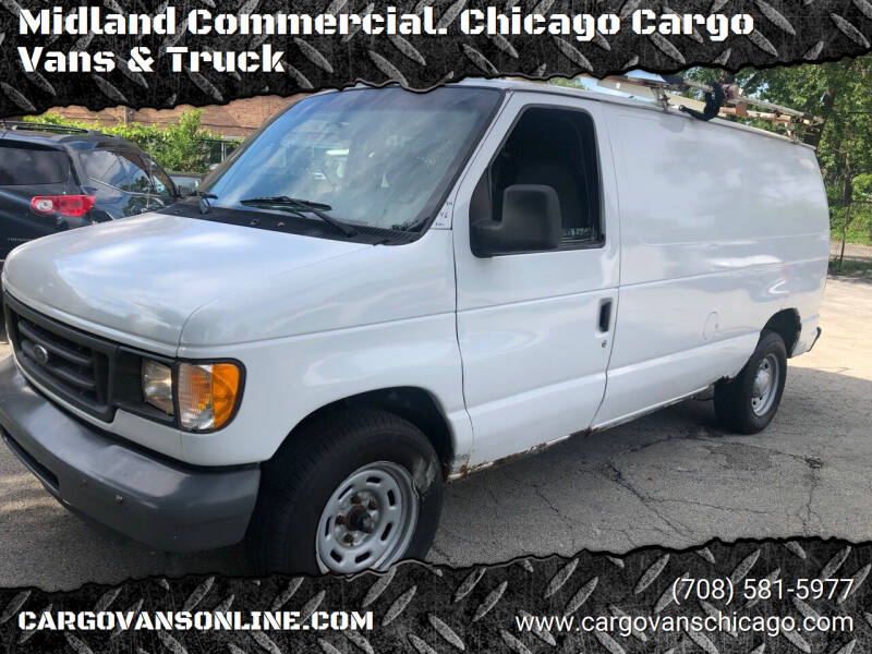 2006 Ford E-Series Cargo for sale at Midland Commercial. Chicago Cargo Vans & Truck in Bridgeview IL