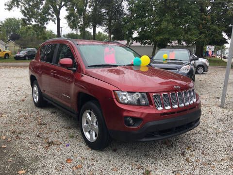 2016 Jeep Compass for sale at Antique Motors in Plymouth IN