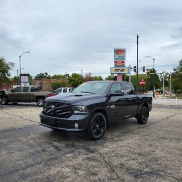 2014 RAM Ram Pickup 1500 for sale at Bibian Brothers Auto Sales & Service in Joliet IL