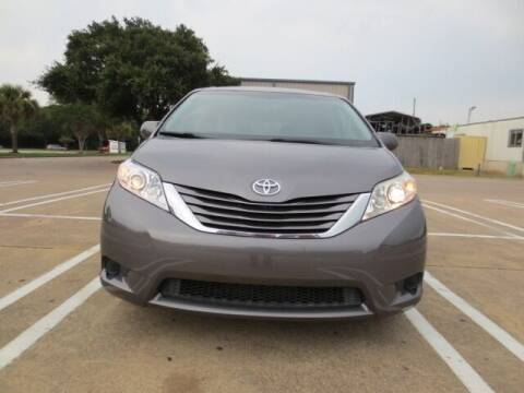 2016 Toyota Sienna for sale at MOTORS OF TEXAS in Houston TX