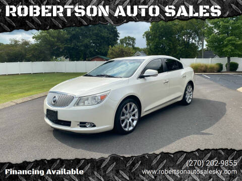 2011 Buick LaCrosse for sale at ROBERTSON AUTO SALES in Bowling Green KY