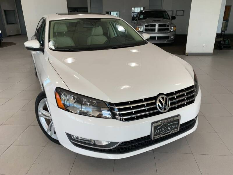 2015 Volkswagen Passat for sale at Auto Mall of Springfield north in Springfield IL